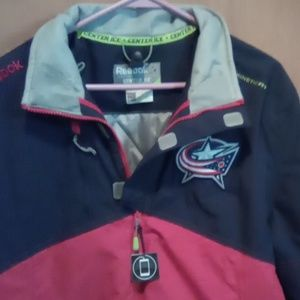 Columbus Bluejackets N.H.L. coat